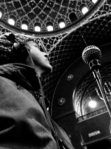 Recording in a Synagoge